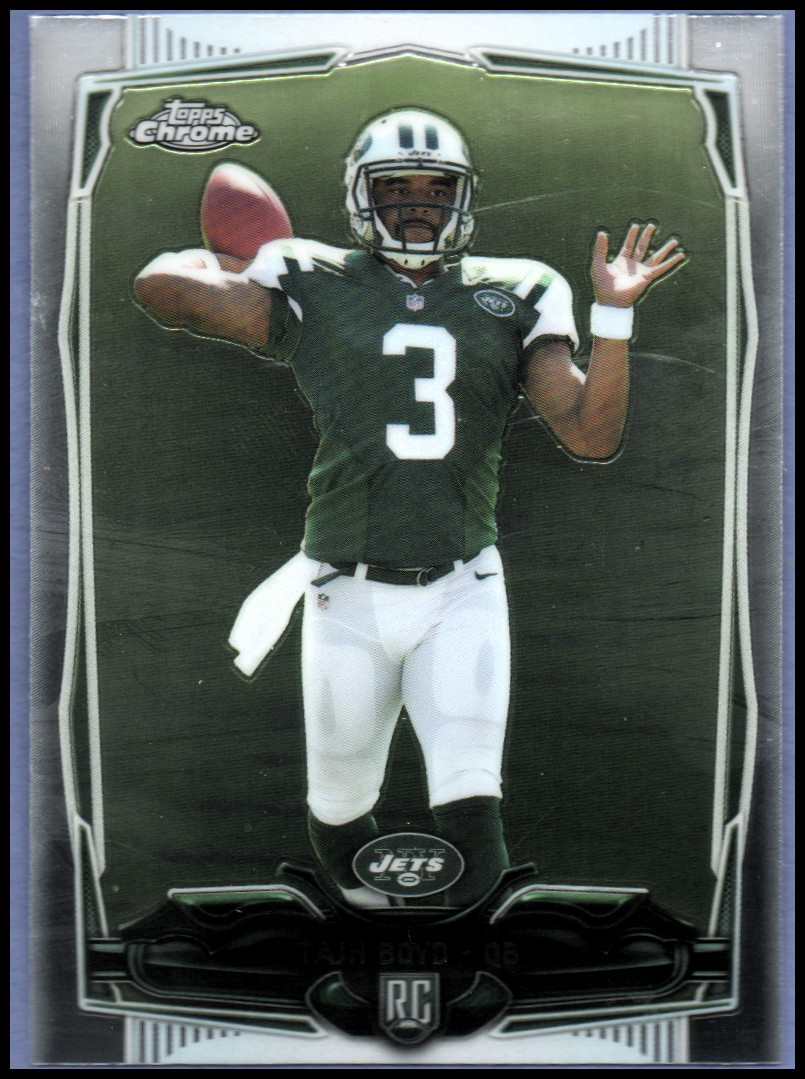 2014 Topps Chrome #141A Tajh Boyd RC