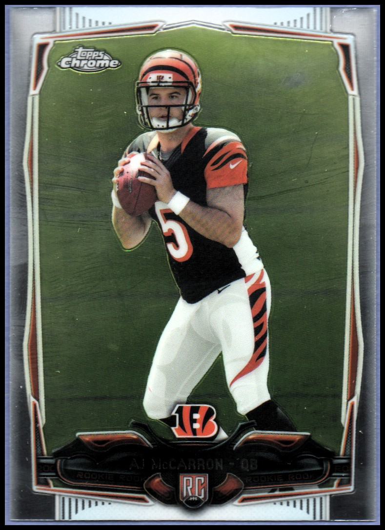 2014 Topps Chrome #144 A.J. McCarron RC