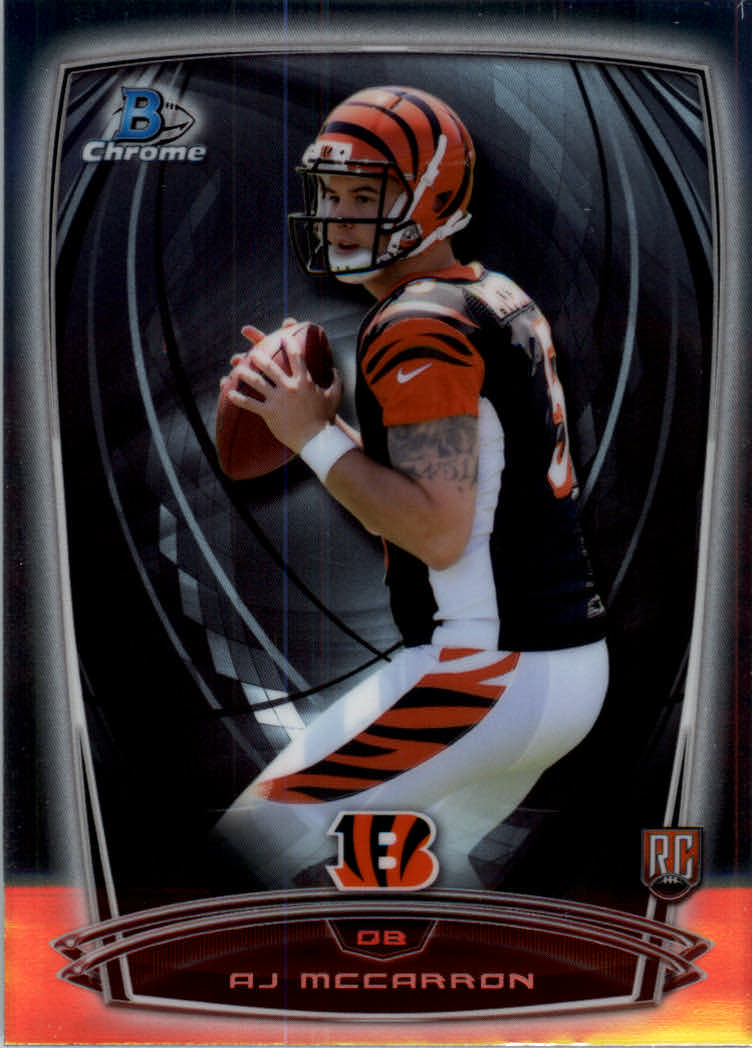 2014 Bowman Chrome #145A A.J. McCarron RC