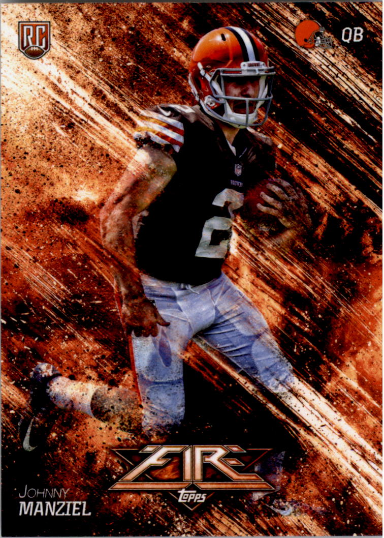 2014 Topps Fire #143 Johnny Manziel RC