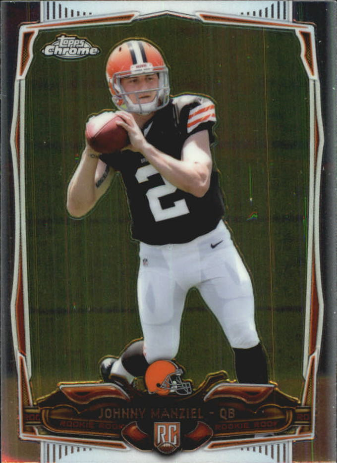 2014 Topps Chrome Mini #169A Johnny Manziel RC