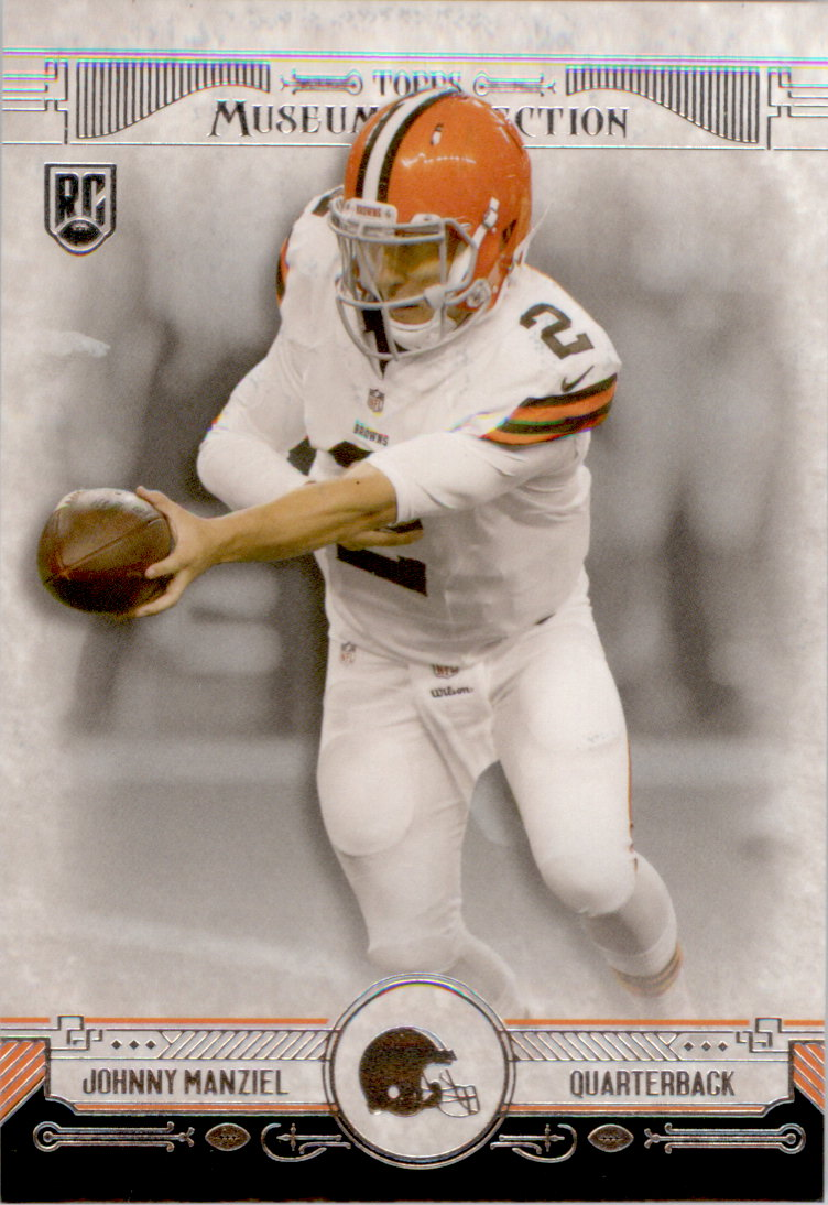 2014 Topps Museum Collection #30 Johnny Manziel RC