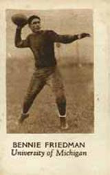 1928 Star Player Candy #12 Benny Friedman
