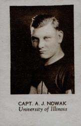1928 Star Player Candy #28 A.J. Nowak