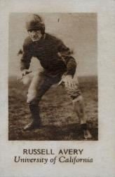 1928 Star Player Candy #1 Russell Avery