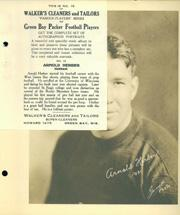 1932 Packers Walker's Cleaners #15 Arnie Herber