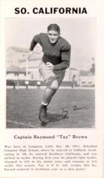 1933 College Captains #2 Raymond Brown