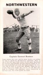 1933 College Captains #8 Pug Rentner