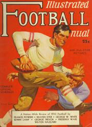 1931-53 Football Illustrated (College) #5 1935 Illustration