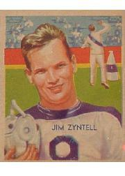 1935 National Chicle #8A Jim Zyntell SN RC