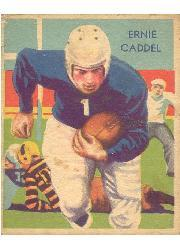 1935 National Chicle #30 Ernie Caddel RC