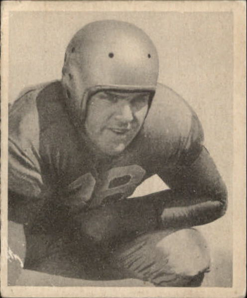 1948 Bowman #6 Paul Briggs SP RC