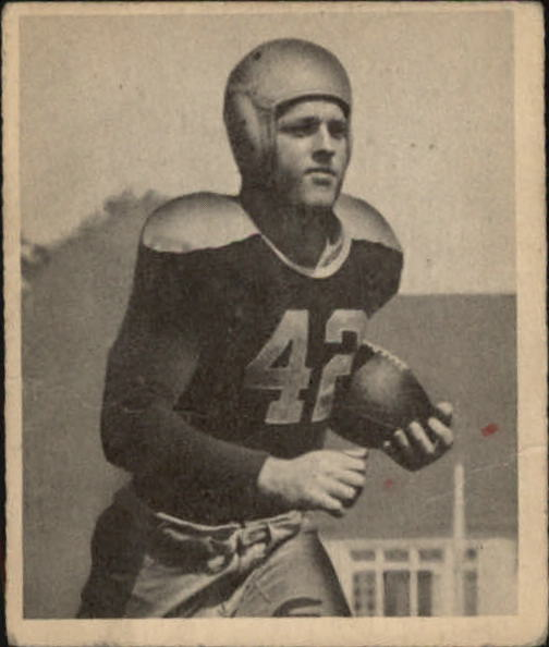 1948 Bowman #104 Bruce Smith RC