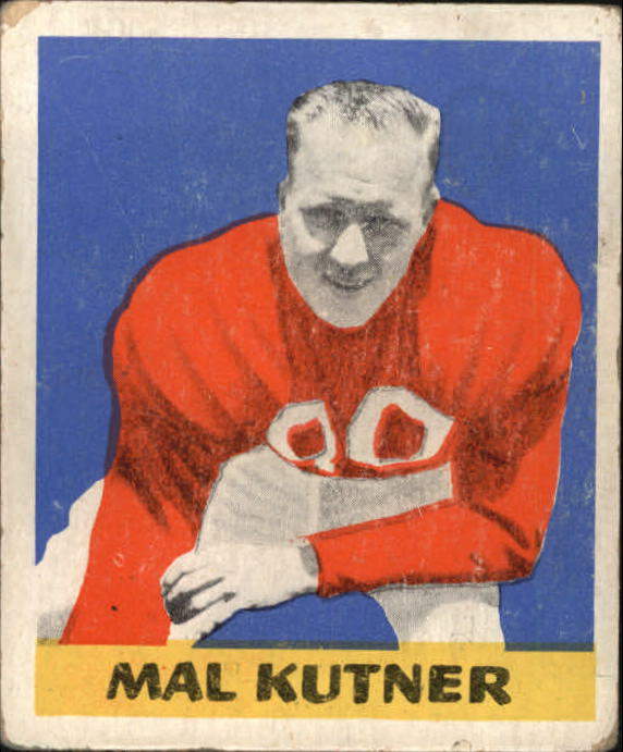 1948 Leaf #14A Mal Kutner BL RC/(Black letter name on front)
