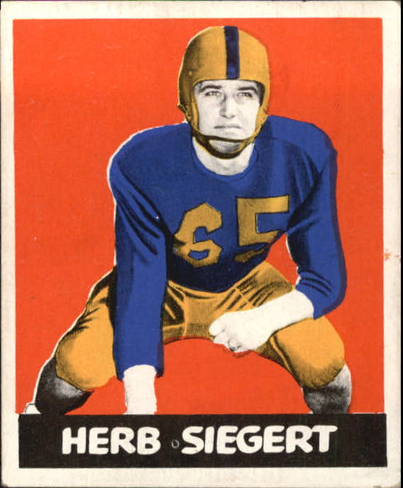 1948 Leaf #88A Herb Siegert BYP RC/(bright yellow pants)