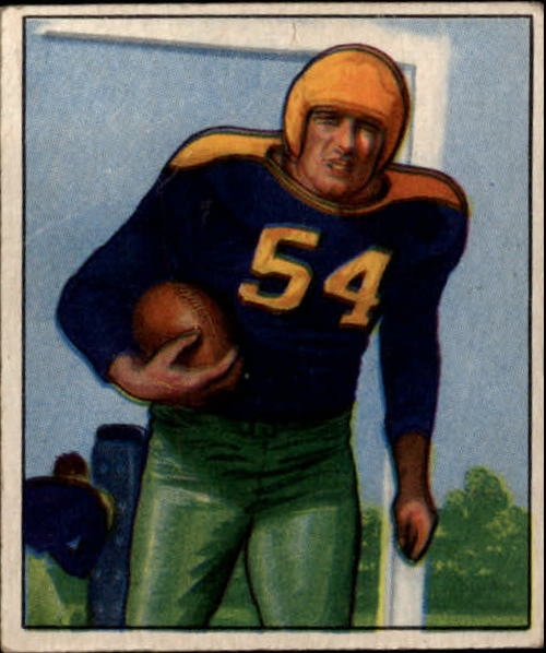 1950 Bowman #10 Larry Craig RC