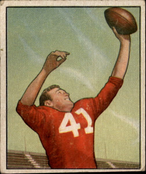 1950 Bowman #22 Billy Dewell front image