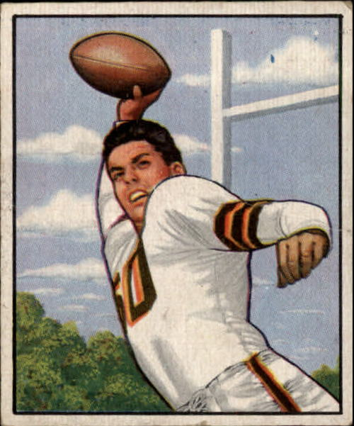 1950 Bowman #45 Otto Graham RC