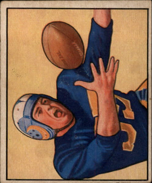 1950 Bowman #51 Tom Fears RC