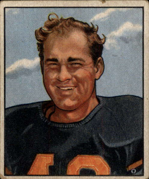 1950 Bowman #55 Buddy Tinsley RC