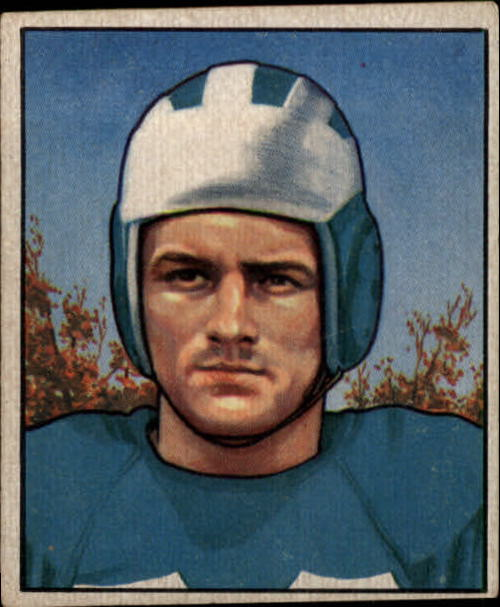1950 Bowman #74 Dan Sandifer RC
