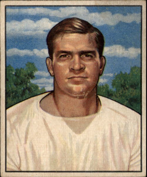 1950 Bowman #82 Paul Burris RC
