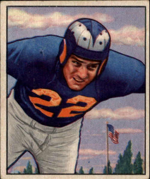 1950 Bowman #85 Fred Naumetz RC