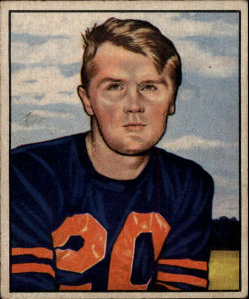 1950 Bowman #99 Jim Keane RC