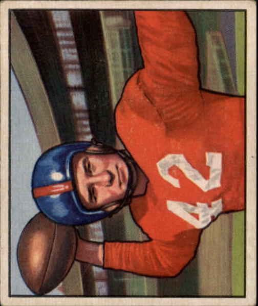 1950 Bowman #103 Charley Conerly