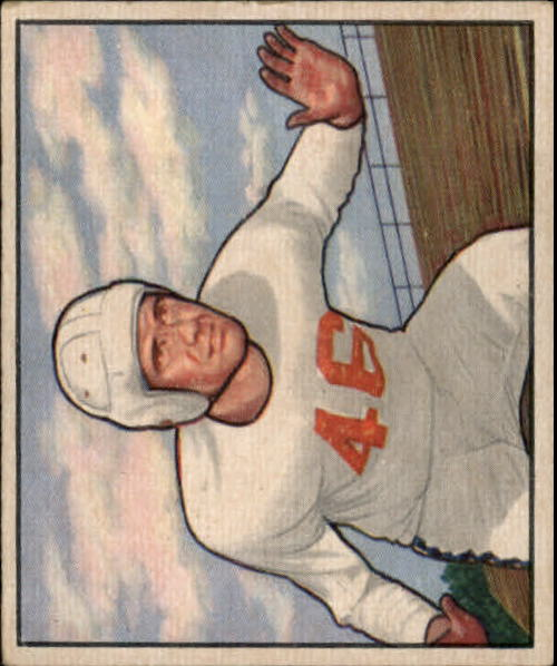 1950 Bowman #104 Dick Hensley RC