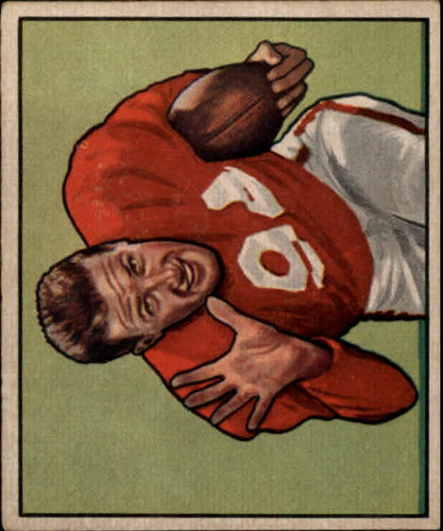 1950 Bowman #108 Verl Lillywhite RC