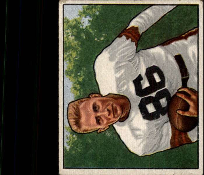 1950 Bowman #117 Dub Jones RC