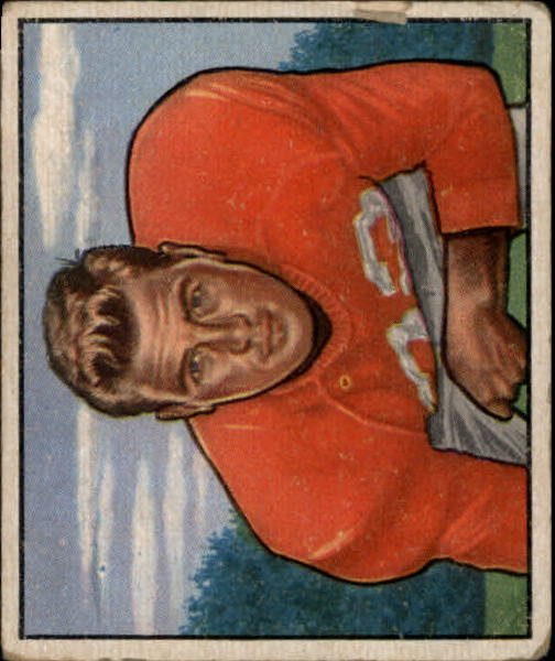 1950 Bowman #144 Knox Ramsey RC