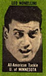 1950 Topps Felt Backs #62 Leo Nomellini