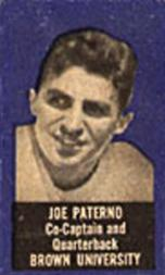 1950 Topps Felt Backs #64 Joe Paterno RC