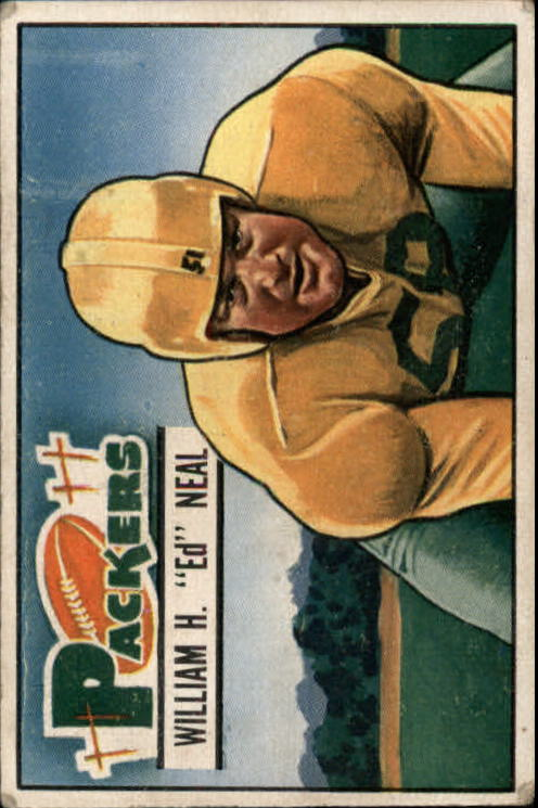 1951 Bowman #18 Bill Neal RC