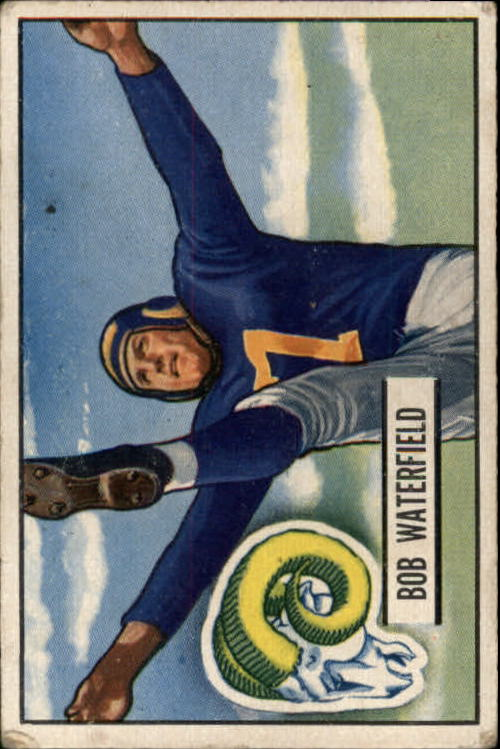 1951 Bowman #40 Bob Waterfield