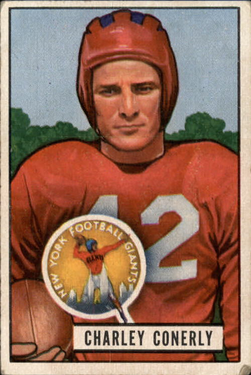 1951 Bowman #56 Charley Conerly