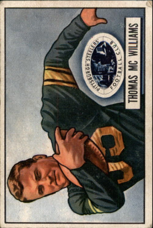 1951 Bowman #58 Tom McWilliams