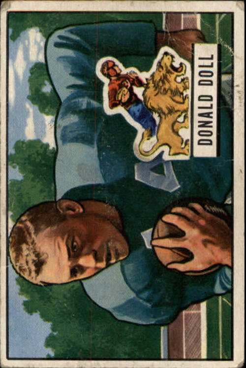 1951 Bowman #61 Don Doll