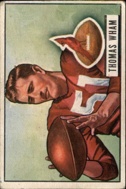 1951 Bowman #64 Tom Wham