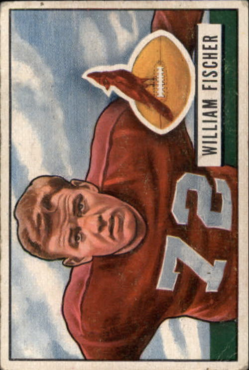 1951 Bowman #65 Bill Fischer