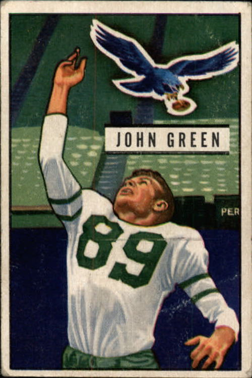 1951 Bowman #83 John Green RC