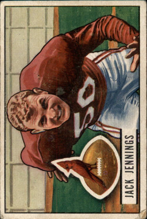 1951 Bowman #98 Jack Jennings RC