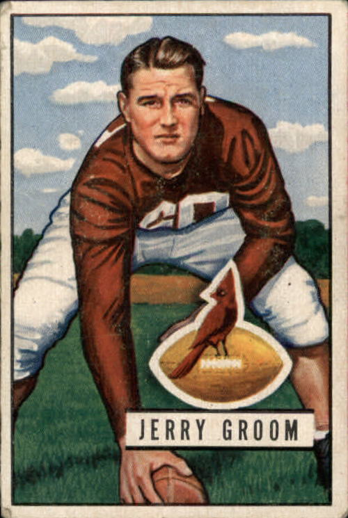 1951 Bowman #99 Jerry Groom RC