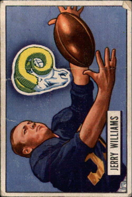 1951 Bowman #114 Jerry Williams RC