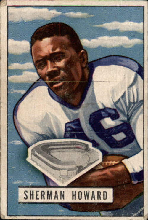 1951 Bowman #116 Sherman Howard RC