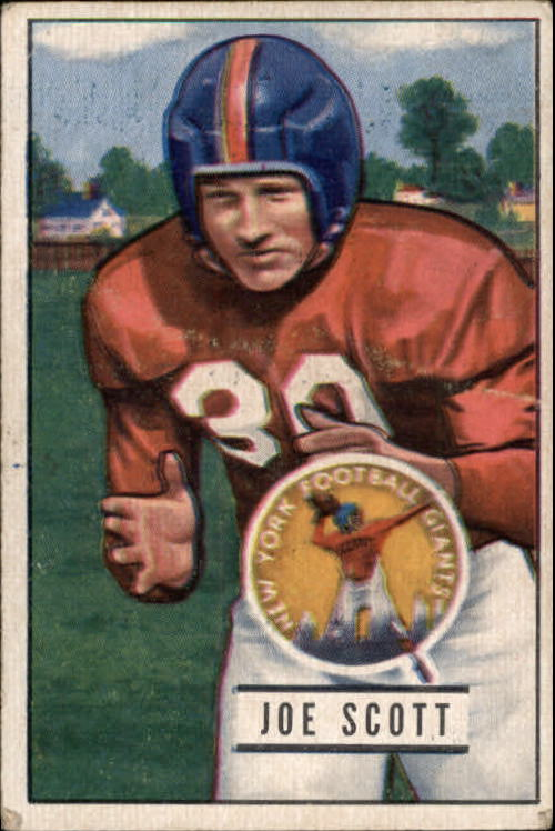 1951 Bowman #128 Joe Scott