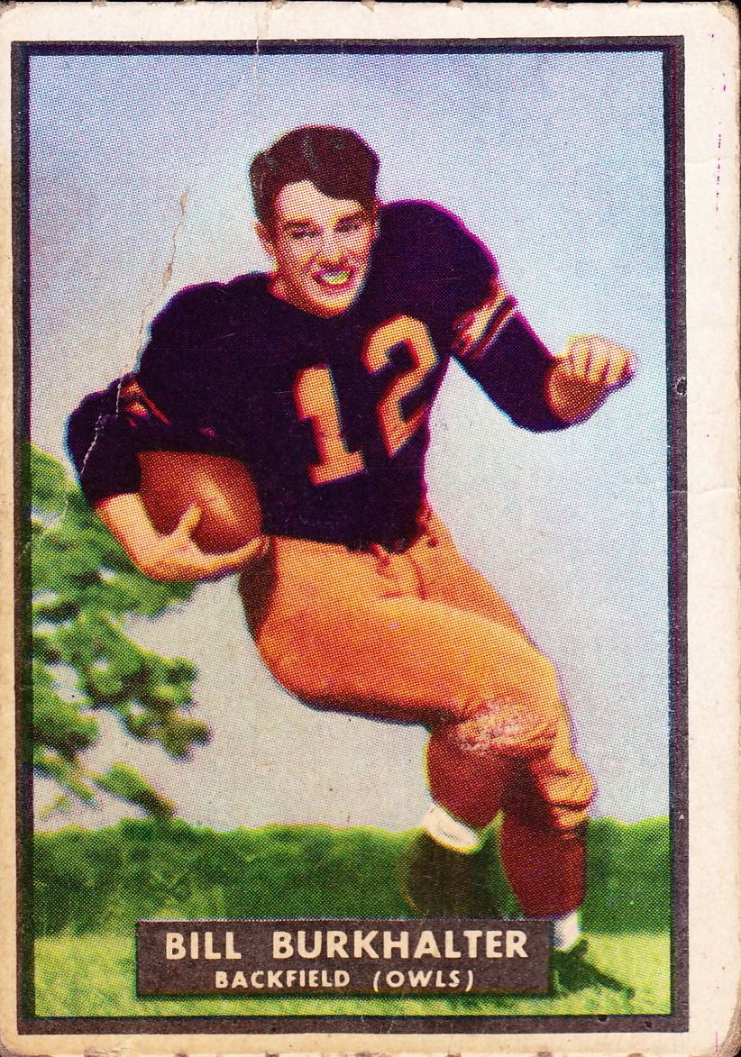 1951 Topps Magic #5 Billie Burkhalter RC