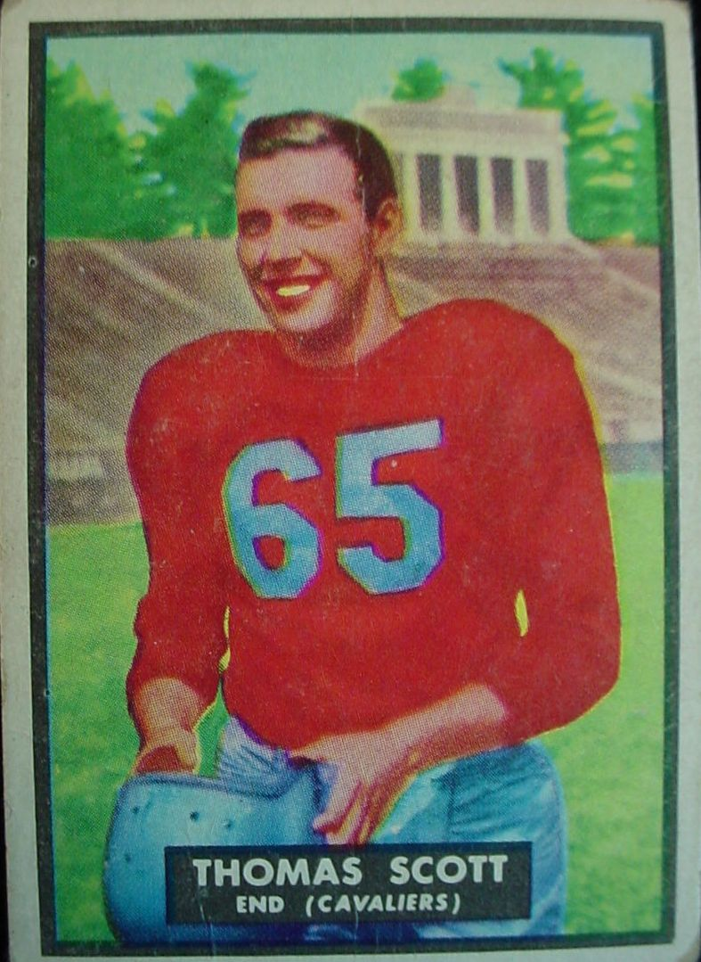 1951 Topps Magic #7 Tom Scott RC front image